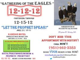 The  Apostolic & Prophetic Gathering of the Eagles:...