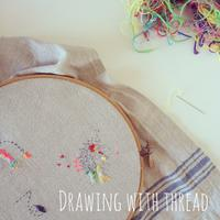 Drawing with Thread (Marrickville, Sydney)