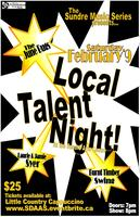 Local Talent Night at the Sundre Arts Centre