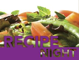 Recipe Night - Spring Potluck May 2014