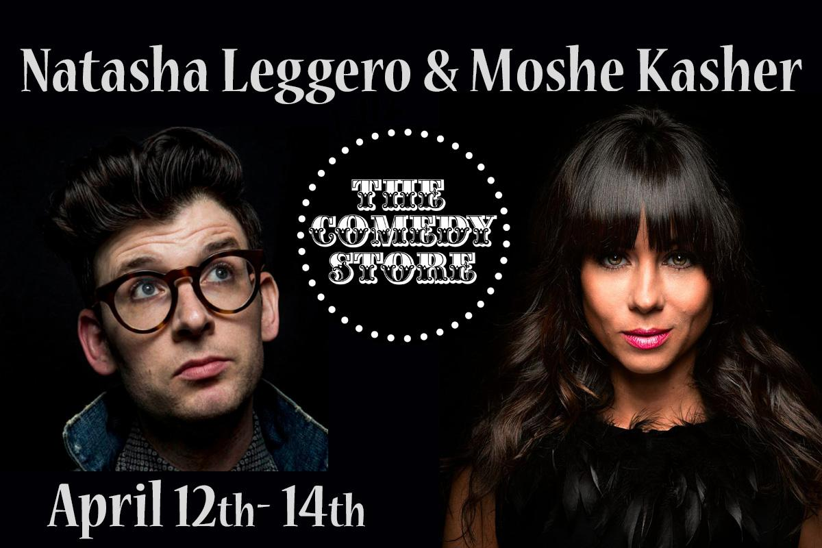 Natasha Leggero & Moshe Kasher - Saturday - 9:45pm