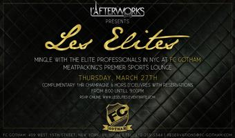 "L'Afterworks ""Les Elites"" Champagne Aftework Mingle"