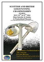 british and scottish gold panning championships 2014...