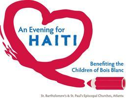 An Evening for Haiti: Benefiting the Children of  Bois Blanc