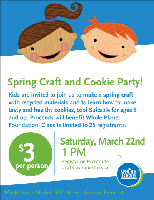 Kids Cookie and Craft Party
