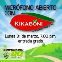 Micrófono abierto con Kikaboni