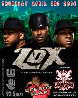 LeeBoy w/ the LOX @ the Belasco on April 3rd