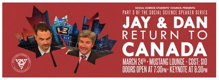 SSSC Presents: Jay & Dan Return to Canada