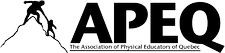 Association of Physical Educators of Quebec logo