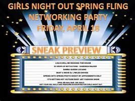 GIRLS NIGHTOUT SPRING FLING NETWORKING PARTY