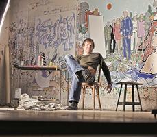 """Moritz Goetze """"Deutsche Kunst"""" - Exhibition opening"""
