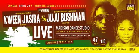 Artistik Lounge featuring Kween Jasira & Juju Bushman