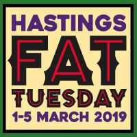 Hastings Fat Tuesday Music Festival logo