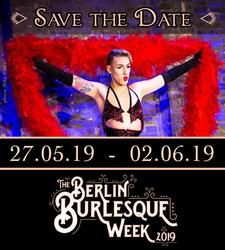 Berlin Burlesque Week logo