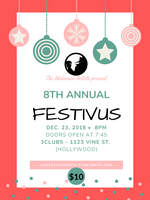 The Unknown Artists' 8th Annual Festivus Show