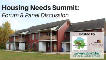 Housing Needs Summit: Forum & Panel Discussion