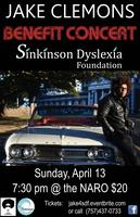 Jake Clemons Benefit Concert for Sinkinson Dyslexia Fou...