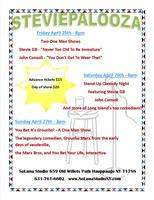 STEVIEPALOOZA! A Weekend of stand up comedy!