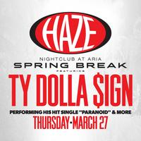 Ty Dolla $ign @ HAZE Nightclub