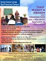 March 26 Information Evening: Become a Waldorf Teacher!