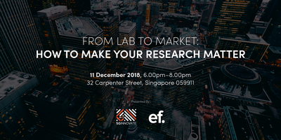 From Lab to Market: How to Make Your Research Matter