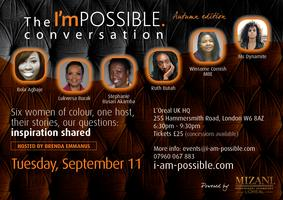 The I'mPOSSIBLE conversation - Autumn edition,...