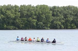 LEARN TO ROW DAY-Ecorse Rowing Club - June 7, 2014...