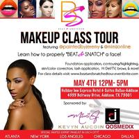Dallas Beat & Snatched Makeup Class w/ MiMi J. and...