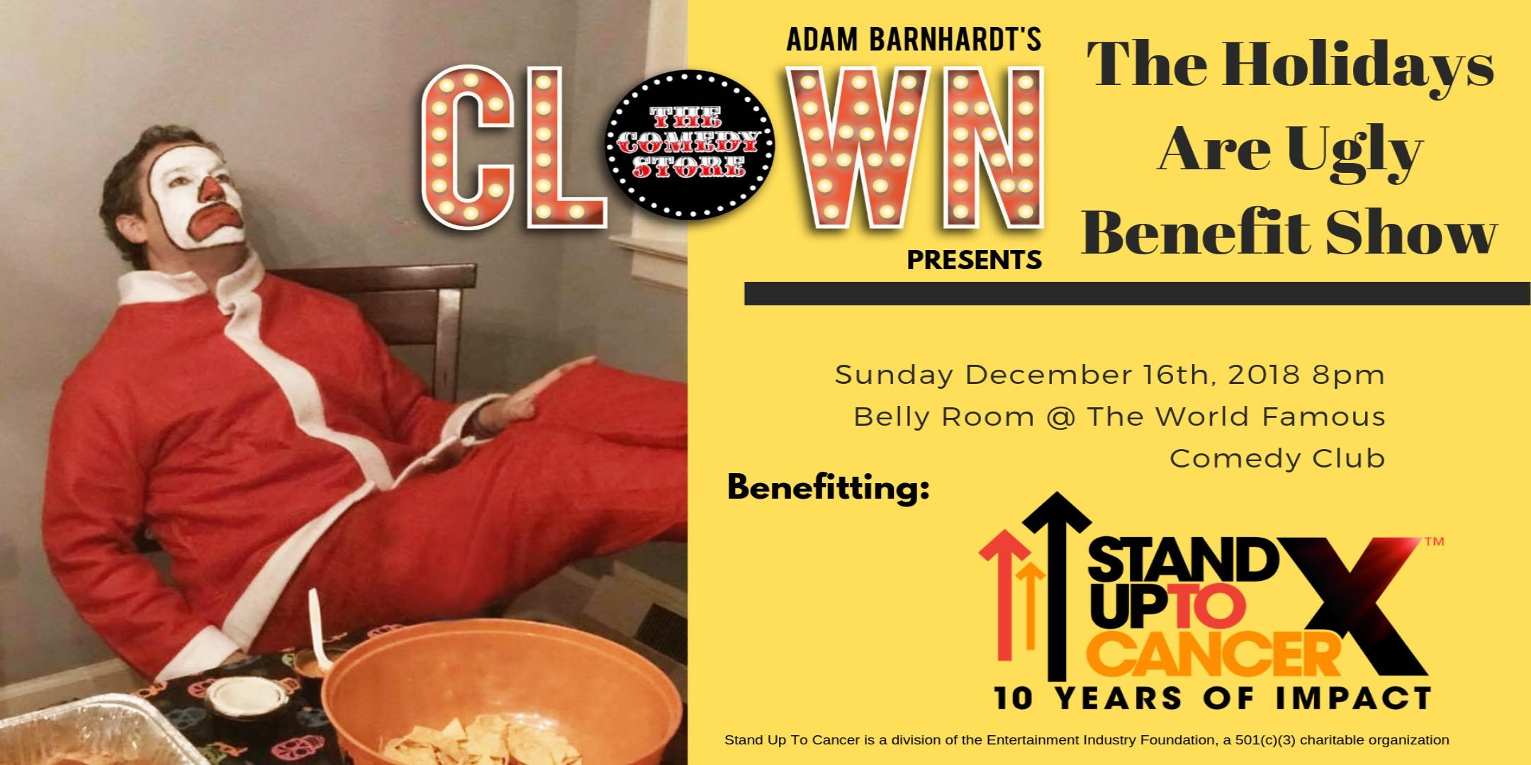 Clown-Stand Up 2 Cancer Benefit