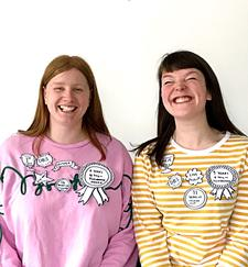 Chloë and Katie at Making and Moving, Berwick-upon-Tweed logo