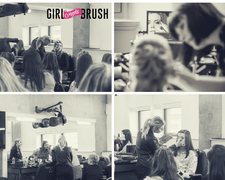 Girl Meets Brush logo