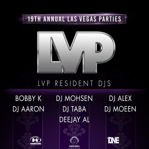 Marquee Nightclub Takeover Fridays | LVP PERSIAN PARTIES 2018