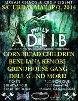 Urban Chaos & Cornbread Children Present: ADLIB live @...