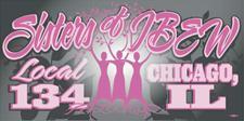 Sisters of IBEW Local #134 logo