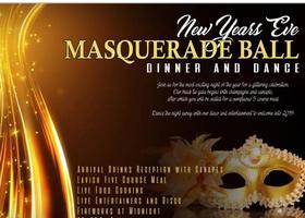 New Year Eve Masquerade Ball Dinner & Dance