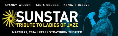 SUNSTAR: Tribute to Ladies of Jazz