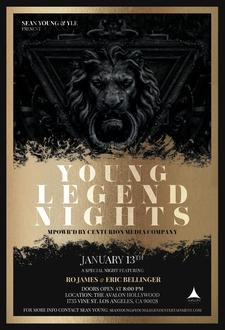 Sean Young / Young Legend Entertainment / Centurion Media  logo