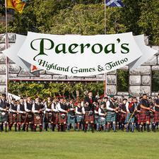 Paeroa Pipe Bands Committee logo