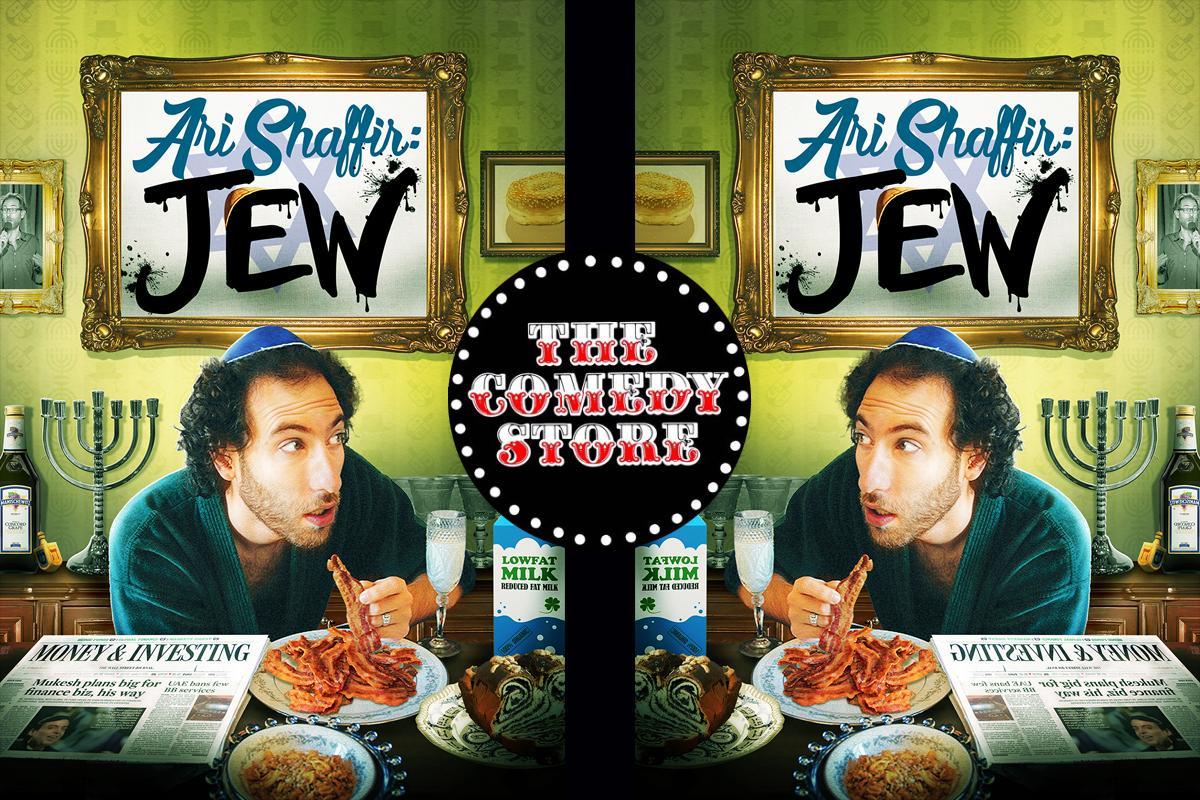 Ari Shaffir - Friday - 9:45pm