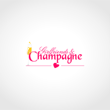 Girlfriends and Champagne logo