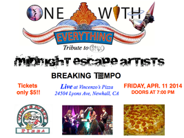 One With Everything STYX Tribute Band Performing LIVE...