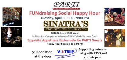 FUNdraiser Social Happy Hour at Sinatra's - benefiting...