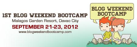 1st Blog Weekend Bootcamp