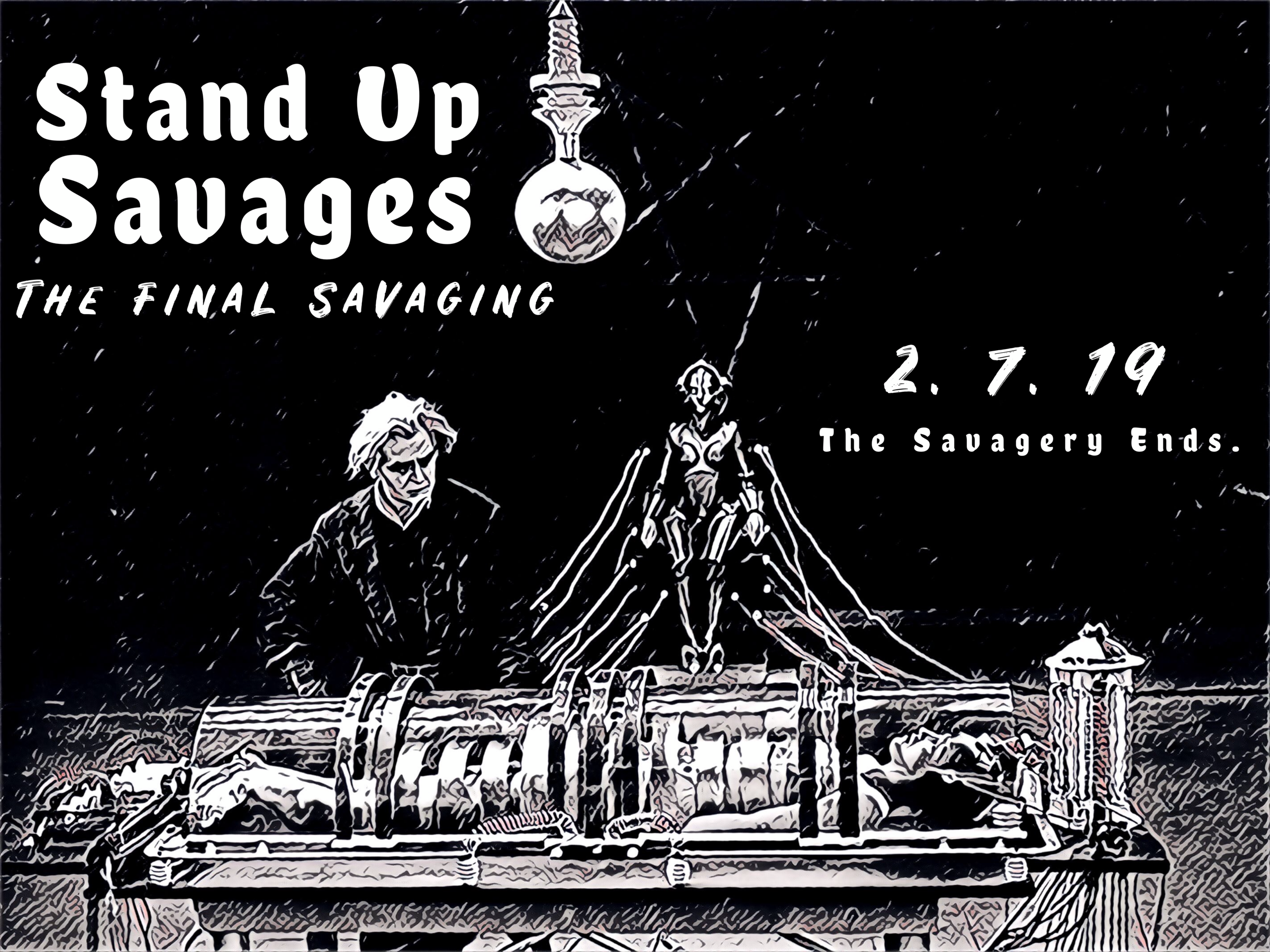 Stand Up Savages - Thursday - 8:00 Showtime