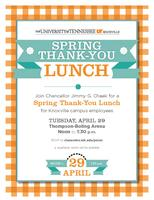 Spring Thank-You Lunch