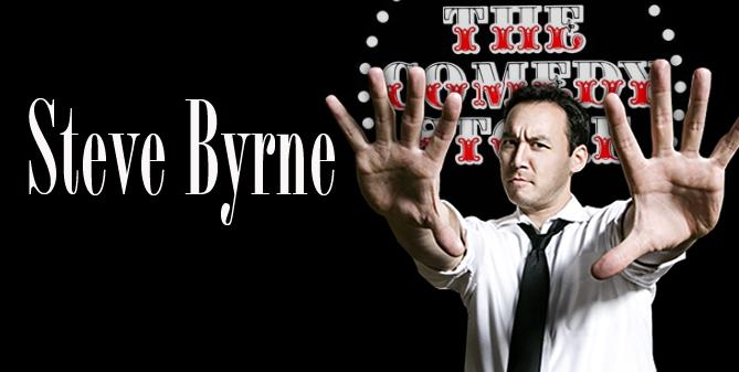 Steve Byrne - Saturday - 7:30pm