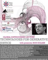 Global Distinguished Lecture with Ron Eglash