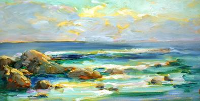 Sand, Surf and Sea Foam: Painting Tidal Landscapes