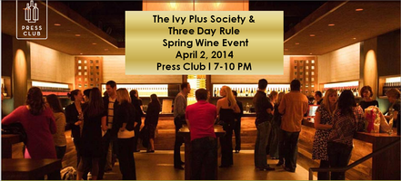 TIPS/TDR Spring Wine Event: Press Club 4.2.14