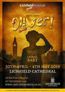 Lichfield Musical Youth Theatre logo